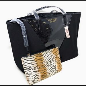 Victoria's Secret Black Weekend Tote NWT